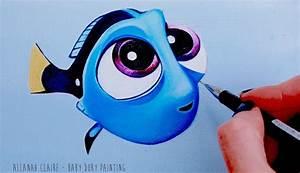 Findet Nemo Kostüm Baby : baby dory painting finding dory youtube ~ Frokenaadalensverden.com Haus und Dekorationen