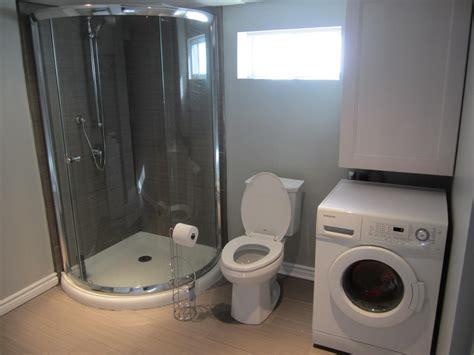 basement bathroom laundry room combo new basement laundry room bathroom reno reveal the elm life
