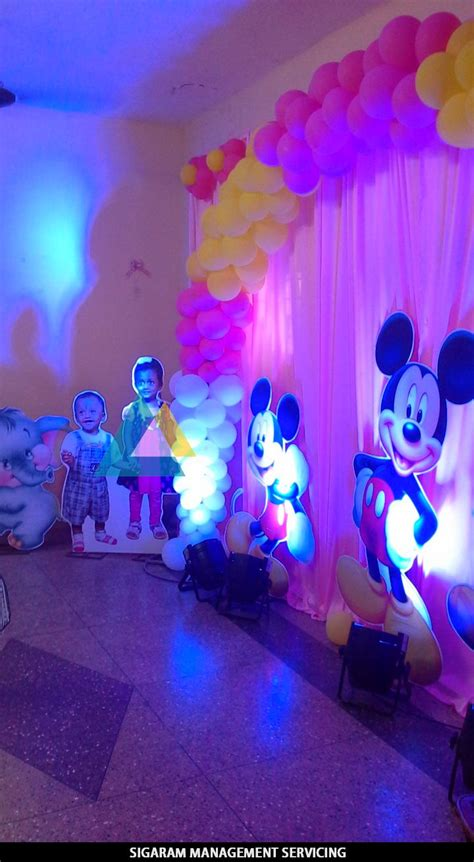 birthday party decoration  home themed birthday