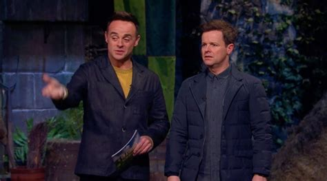 I'm a Celebrity star Declan Donnelly disappointed in ...