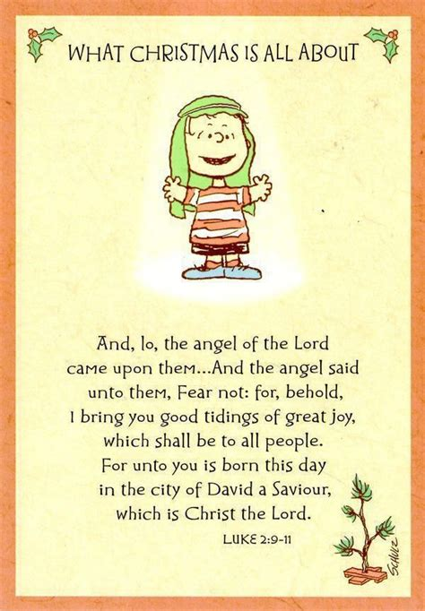a charlie brown christmas linus was first to share with