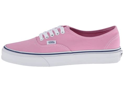 lyst vans authentic in pink