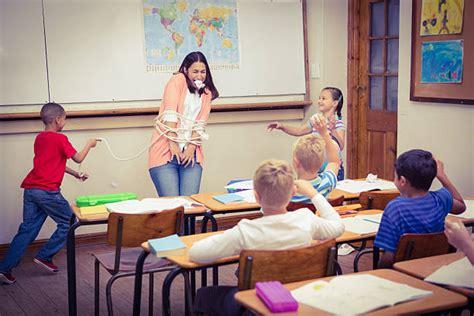 Teacher Ties Up Student
