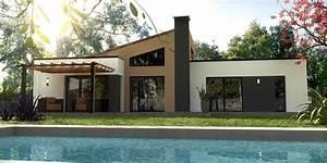 constructeur maison moderne nantes hauts paves loire With delightful maison de 100m2 plan 6 modales de maisons en projet en loire atlantique 44
