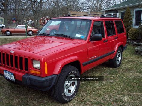 2001 Jeep Cherokee Sport