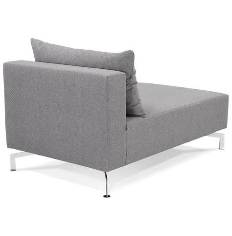 canapé voltaire 3 places méridienne voltaire longchair gris canapé modulable