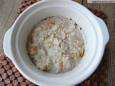 congee crock pot recipe crock pot apple oatmeal no sugar added