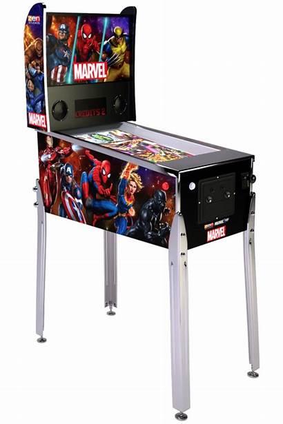 Pinball Marvel Arcade1up Capcom Cabinet Machines Announces