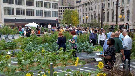 Compuware Plants New Urban Garden In Downtown Detroit