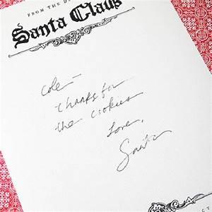 santa claus printable letterhead savings tips savingsmania With santa claus letter stationary