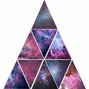 galaxy triangle on Tumblr