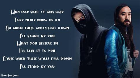 lonely walker alan isak aoki steve lyrics feat
