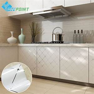 460cmx3m white paint diy stickers stickers art With kitchen colors with white cabinets with decorative wall paper art sticker