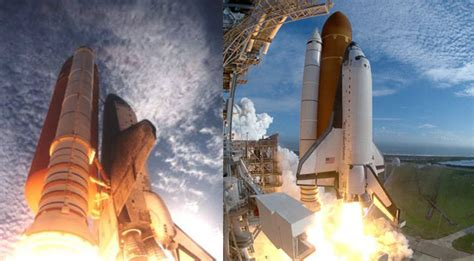 nasa history space shuttle columbia launched  cape