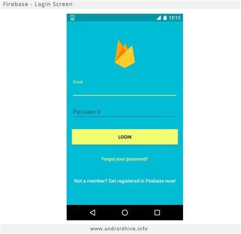 login mobile android android getting started with firebase login and