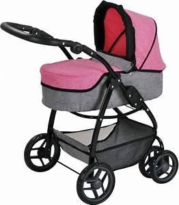 Puppenwagen 2 In 1 : knorr toys puppenwagen 2 in 1 coco jeans pink online kaufen otto ~ Eleganceandgraceweddings.com Haus und Dekorationen