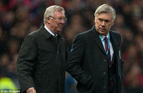 Sir Alex Ferguson Hails Carlo Ancelotti As 'one Of Best