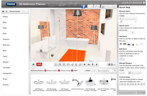 bathroom design programs free easy 3d bathroom planner lets you design