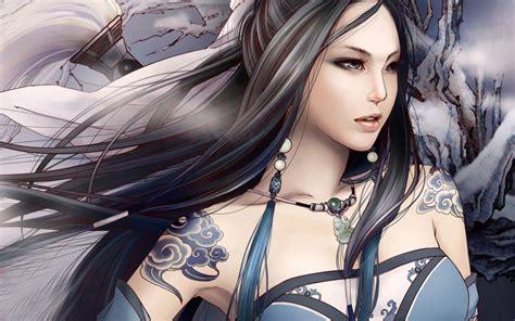 Permalink to Cute Girl Fantasy Hd Wallpaper