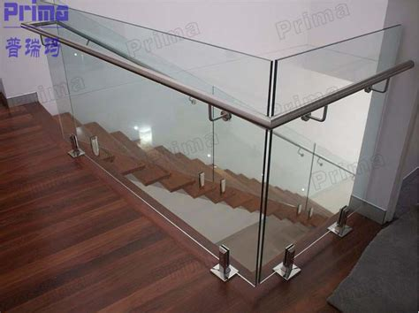 glass railing cost staircase glass railing designs factory prices glass railings stainless steel handrail pr