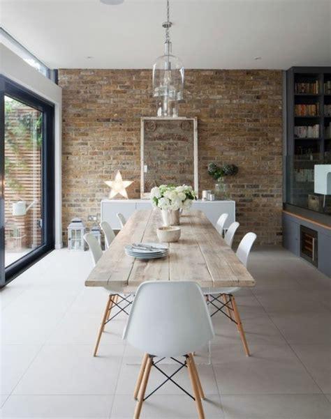 bureau contemporain bois massif la meilleure table de salle à manger design en 42 photos