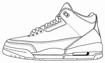 Jordan Coloring Sheets Shoes