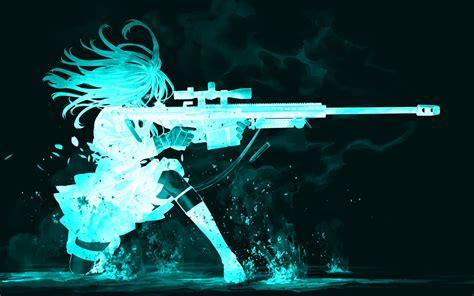 Anime Gun Wallpaper - original hd papel de parede and background image