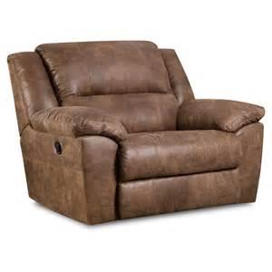 Simmons Upholstery Phoenix Cuddler Recliner - Mocha, Brown