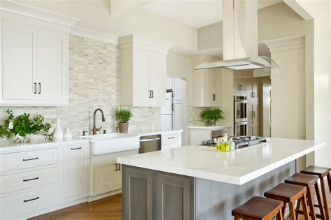 houzz kitchen floors point contemporary transitional kitchen orange 1729