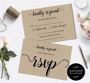 wedding rsvp postcards templates rsvp cards wedding diy With rsvp wedding template