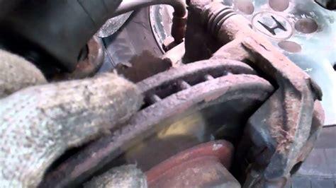testing  brake caliper     sticking youtube