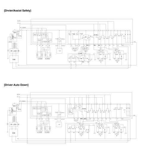 Kia Soul Power Window Switch Circuit Diagram