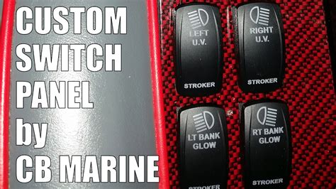 Boat Switch Panel Not Working by Custom Boat Switch Panel By Cb Marine