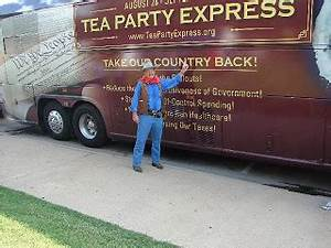 GENE AND NORMA HOWARD: NATIONAL TEA PARTY BUS TOUR STOP IN ...