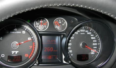 260 Kmh In Mph by Audi Tt 3 2 V6 260 Km H 162 Mph Car Top Speed Max