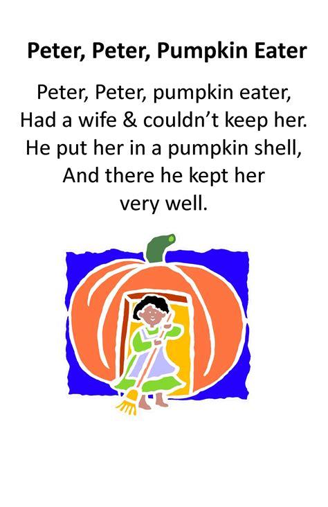 itty bitty rhyme pumpkin eater itty bitty 134 | 960979c969fba8262124f2cf0dd903d5