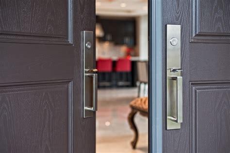 emtek lausanne front entry set contemporary door