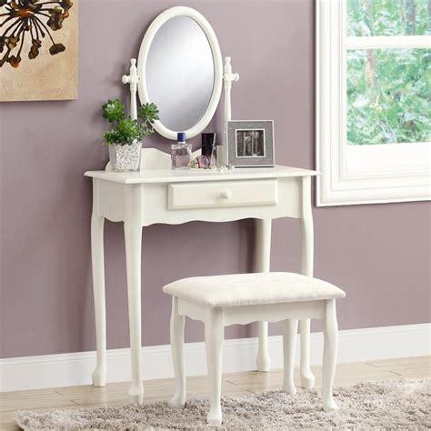 white makeup vanity shop monarch specialties antique white makeup vanity at