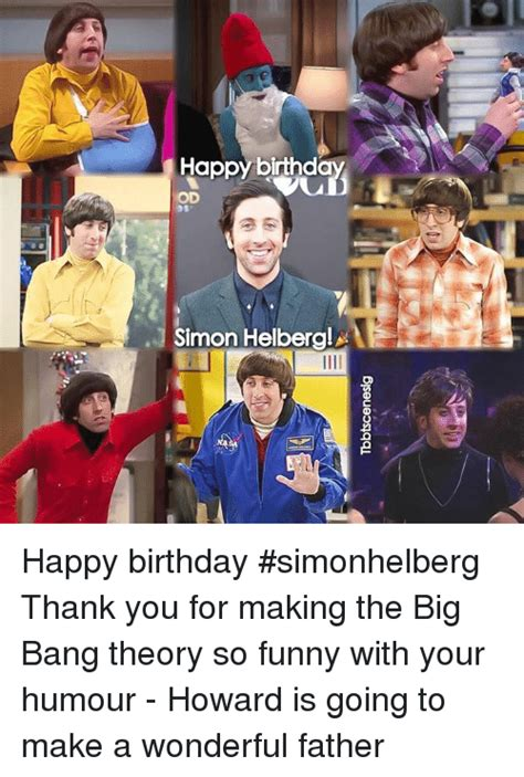 Big Bang Theory Birthday Meme - 25 best memes about big bang theory big bang theory memes