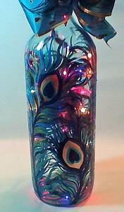 Artesanato Com Garrafas de Vidro, Veja +75 Modelos e Vídeos