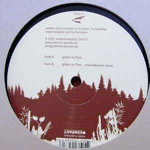Kollektiv Turmstraße*  Grillen Im Park (vinyl) At Discogs