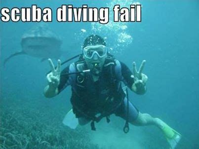 Scuba Diving Meme - scuba diving fail instant humour funny and humorous pictures mega collection pinterest