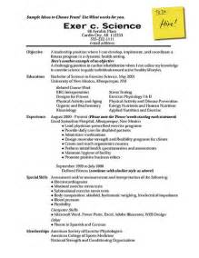 Resume Template For Field How To Write A Resume