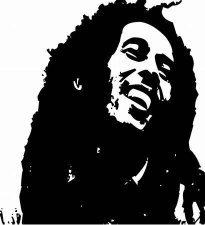 Marley Bob Dreadlocks Ikon Reggae Face Portrait