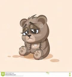 Cartoon Frustrated Sad Emoji