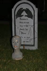 Funny Halloween Tombstones Sayings by Tombstone For Halloween Quotes Quotesgram
