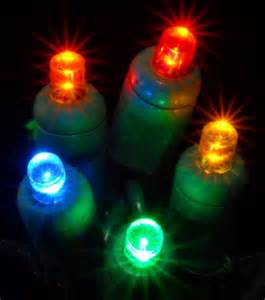 multi colored solar powered string lights