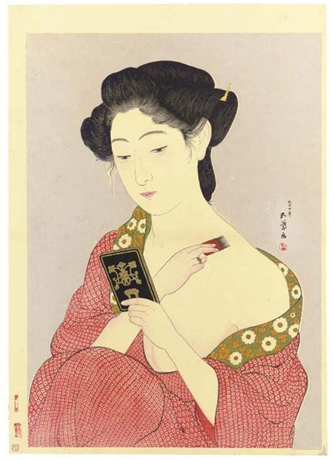 Goyo Hashiguchi Works Sale Auction Biography