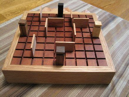 quoridor board wooden board games wood games
