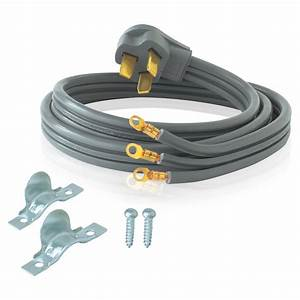 Ez-flo 4 Ft  6  3 3-wire Electric Range Cord-61241
